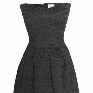 L'atiste Strapless Black Dress